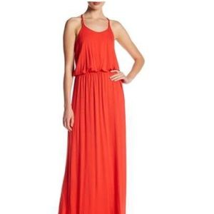 Tori Richard Aubree Maxi Dress in Poppy